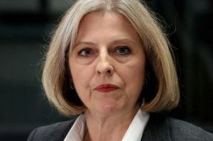 The Right Dishonourable Theresa May MP