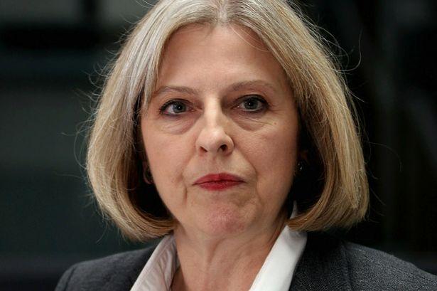The Right Dishonourable Theresa May MP