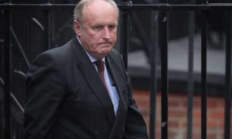 Paul Dacre, Editor of The Daily Mail,  Butcher of Truth.