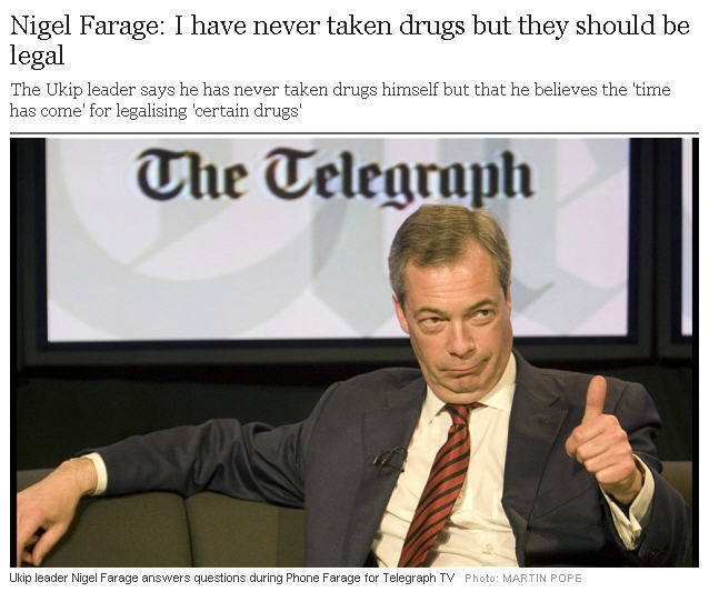 farage Telegraph