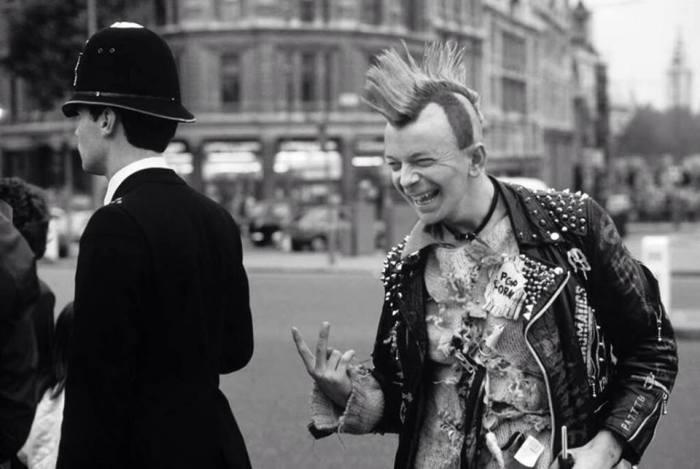 Nigel Farage circa 1983