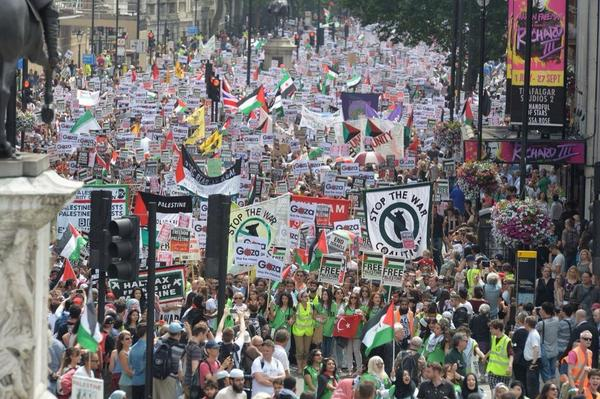 London, 19th July 2014. Ignored by the BBC.