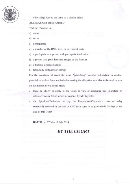 Injunction p2