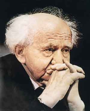 David Ben-Gurion was the primary founder and the first Prime Minister of Israel.