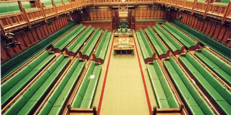 House of Commons empty