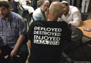 Israeli Soldier Revels In Genocide.