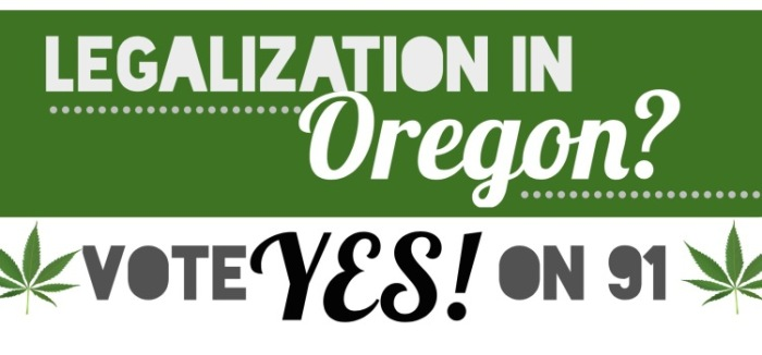 Legalization Oregon