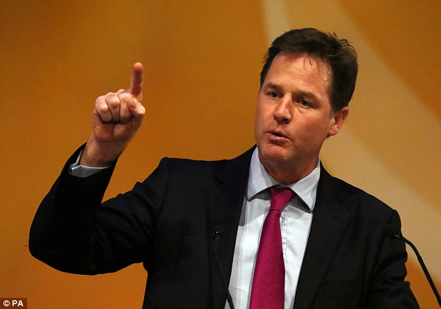 Nick Clegg.  The UK's Most Progressive Politician on Drugs Policy.