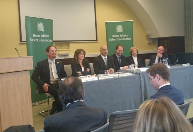 Dr Julian Huppert MP; Lynne Featherstone MP, Minister;Keith Vaz MP, Dr Roberto Dondisch, Danny Kushlick