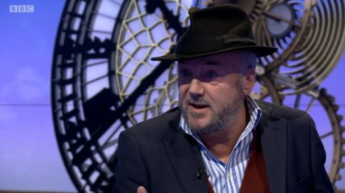 George Galloway on the Sunday Politics