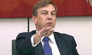 John Whittingdale MP.  Sycophant And Toady To The Press Barons.