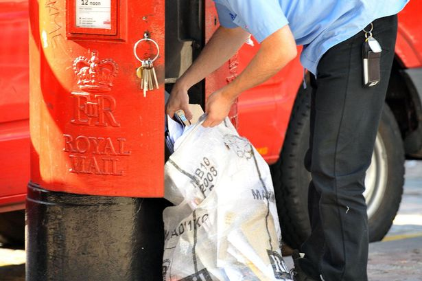 Emptying-a-post-box