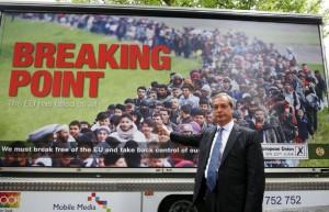 farage migrant poster