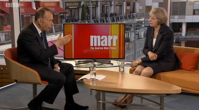 The Andrew Marr Show. 2nd October 2016