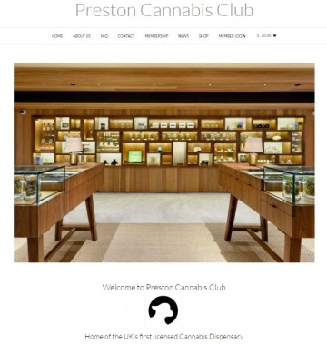 Preston Cannabis Club Website.  Click To Enter.