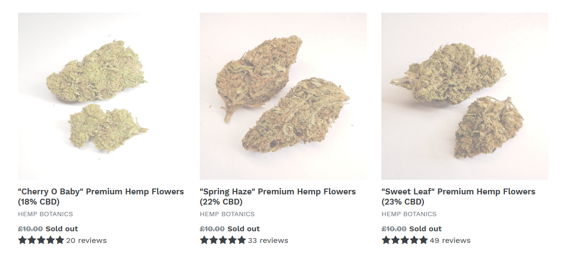 WARNING  CBD Flowers, Buds, Weed, Hash Are NOT Legal In The